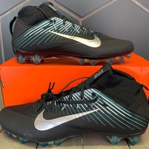 Nike Vapor Untouchable 2 Black Teal Cleats Sz 13